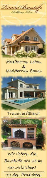Mediterrane Baustoffe und mediterrane Dachziegel